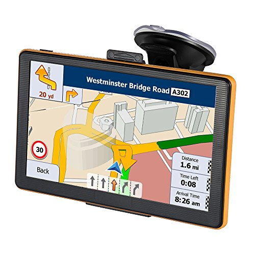 7 zoll navi mit touchscreen lkw navigation f r auto enthalten die neuesten karten f r. Black Bedroom Furniture Sets. Home Design Ideas